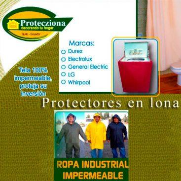 Fábrica de ropa y cobertores impermeables Cobertores Protecziona