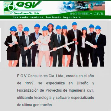 Ingenieria civil E.G.V. Consultores