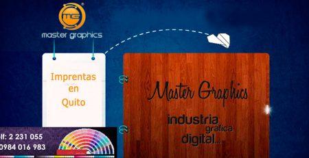imprentas en quito master graphics